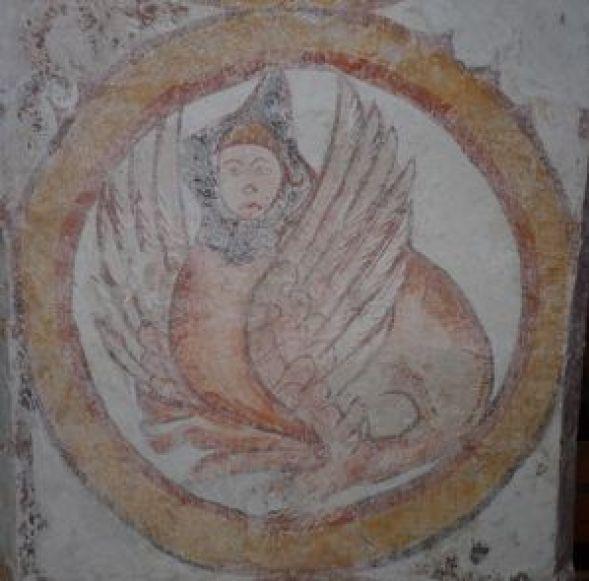 P1070560 Restauration de peintures murales