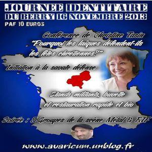 Bourges le 16 novembre