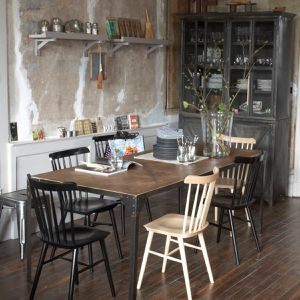 Guide Table De Salle Manger Style Industriel En Bois
