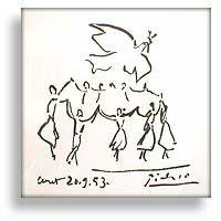 la sardane de la paix pablo Picasso 1953
