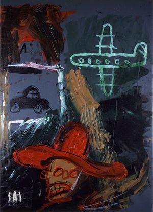 25 Basquiat 81 sans titre lausanne