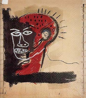 14 Basquiat 82 sans titre Mitterrand & Cramer
