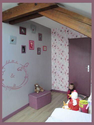 Chambre De Fille  Libellule Et Papillon