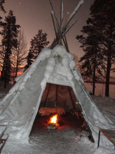 Laponie Rencontre Pere Noel
