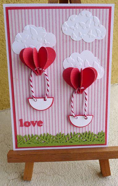 Carte Saint Valentin Le Scrap De Triskel