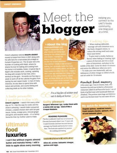 Ralph in BBCGoodFood