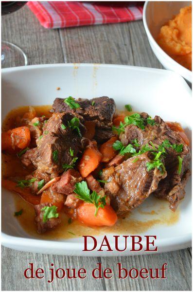 Daube Joue De Boeuf : daube, boeuf, Daube, Boeuf, Purée, Maison, C'est, Nathalie, Cuisine