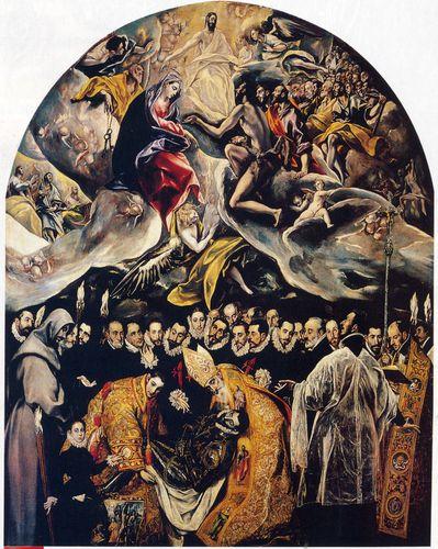 Enterrement Du Comte D Orgaz : enterrement, comte, orgaz, Greco-, L'Enterrrement, Comte, D'Orgaz, LANKAART