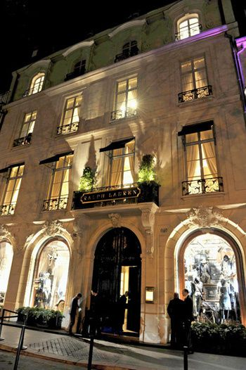 Le Style Ralph Lauren La Boutique Du Boulevard Saint