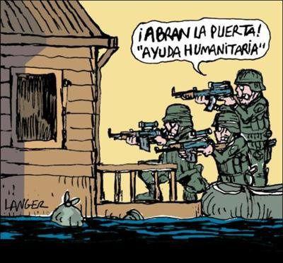 Resultado de imagen para intervencion humanitaria