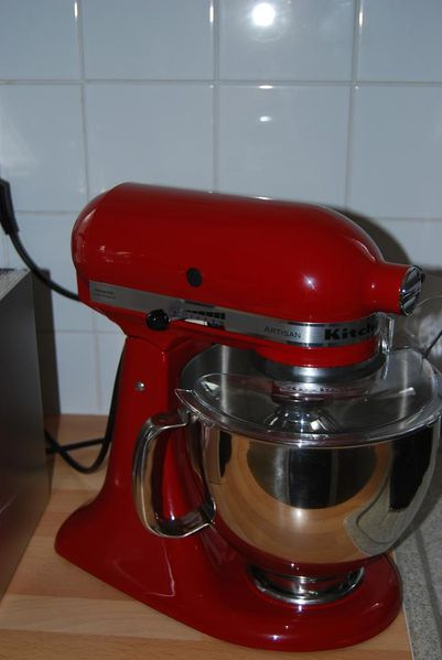 kitchen aid artisan french cabinets super gâtée: kitchenaid artisan! - les passions de nath