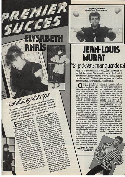 Jean-louis Murat Si Je Devais Manquer De Toi : jean-louis, murat, devais, manquer, Archives!, 1987....,