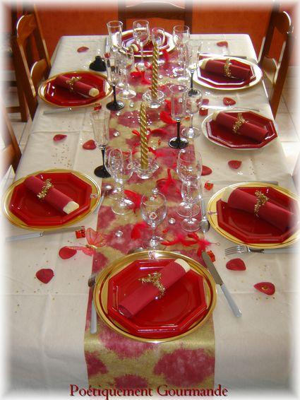 Mes Tables De Ftes Nol 2009 Potiquement Gourmande