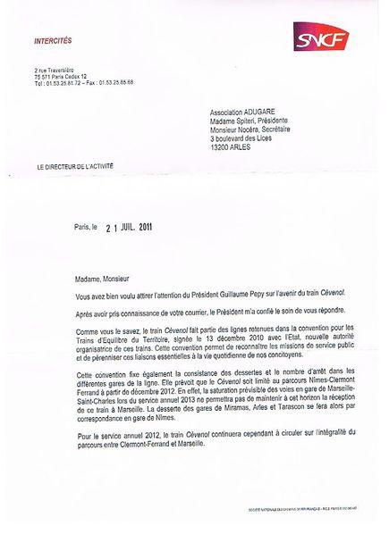 lettre de motivation controleur sncf