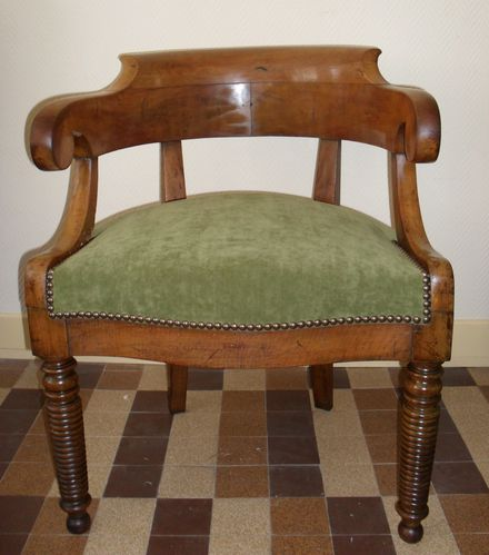 fauteuil de bureau louis philippe