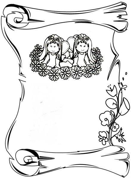 coloriage/fête/mère/maman/mother/clipart*box/enveloppe