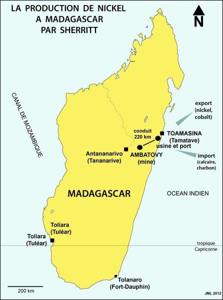 Image result for sherritt madagascar ambatovy