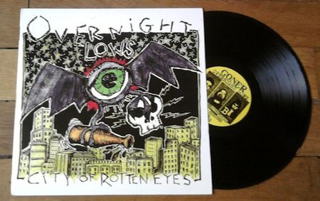 Overnight Lows - City Of Rotten Eyes
