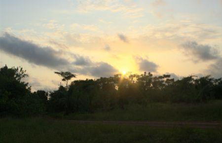 Akori - Coucher de soleil à Ntchengué
