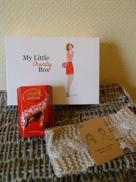 goodies my little charity box