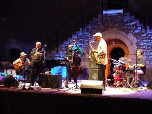jazz-fort-napoleon-la-seyne-Alain Soler, André Jaume, Bernard Santacruz, John Tchicai et Marc Mazzillo