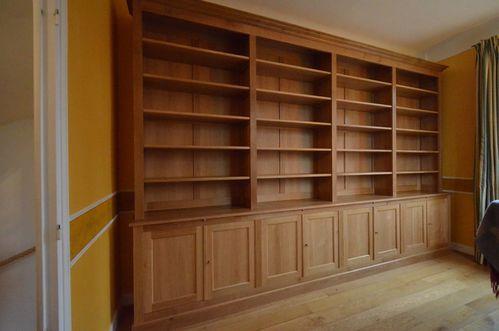 meuble bibliotheque haut ouvert