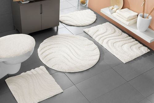 tapis de salle de bain design