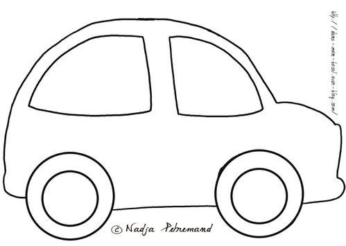 patron doudou voiture