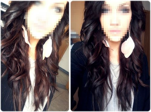 Frisur Glätteisen Julia Amaya