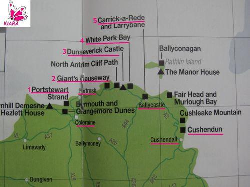 Carte Northern Ireland