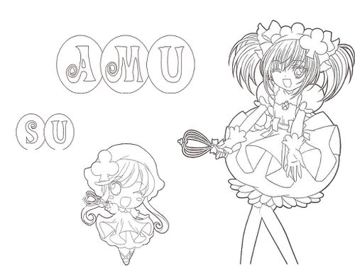 shugo chara su Colouring Pages (page 3)