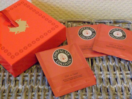 thé de noël compagnie coloniale