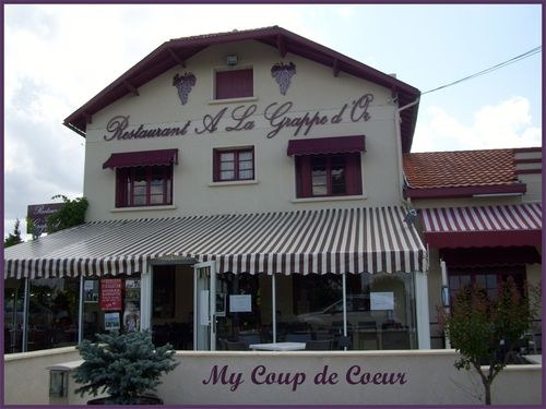 le restaurant la grappe d'or