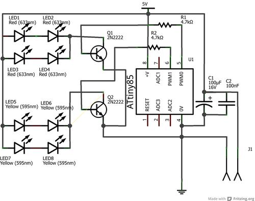Une bougie électronique à base d'ATTiny pour illuminer une
