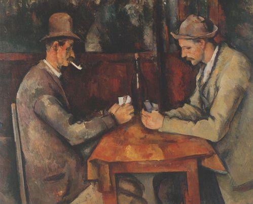 les joueurs de carte
