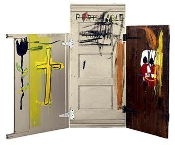 35 Basquiat sculpteur 87 Pierre tombale Akira Ikeda Gallery