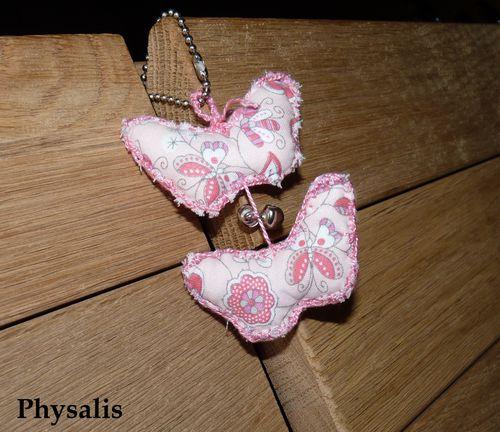 porte clef papillons