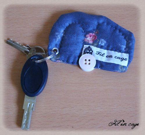 porte clés caravane dos