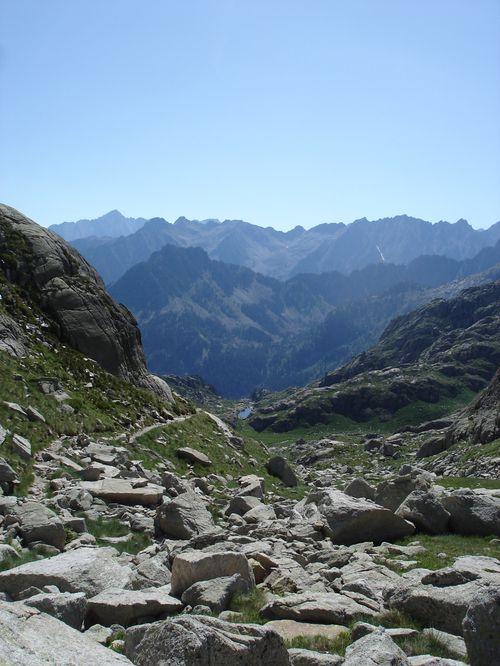 Pyrénées : Lacs de la Cardinquère:Embarrat (2078m)-Pourtet (2420m)-Nère (2309m) 28