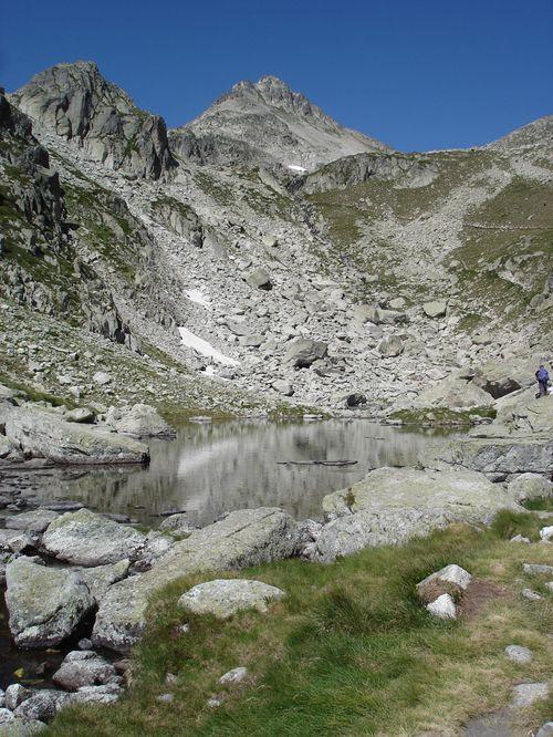 Pyrénées : Lacs de la Cardinquère:Embarrat (2078m)-Pourtet (2420m)-Nère (2309m) 29