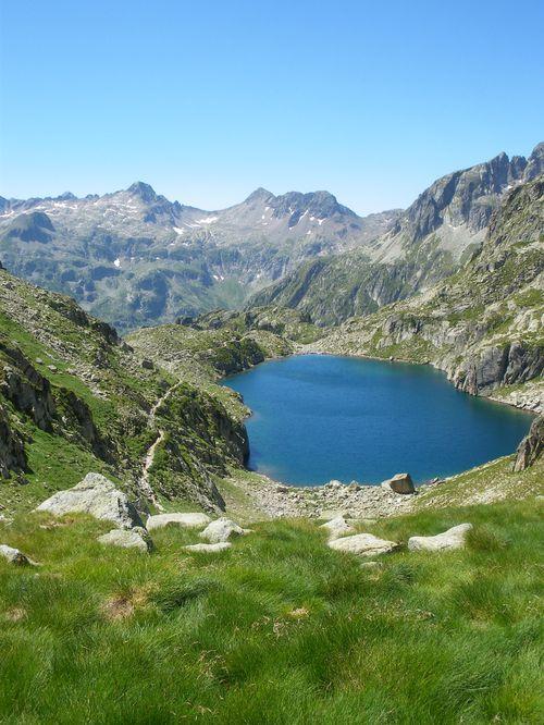 Pyrénées : Lacs de la Cardinquère:Embarrat (2078m)-Pourtet (2420m)-Nère (2309m) 37