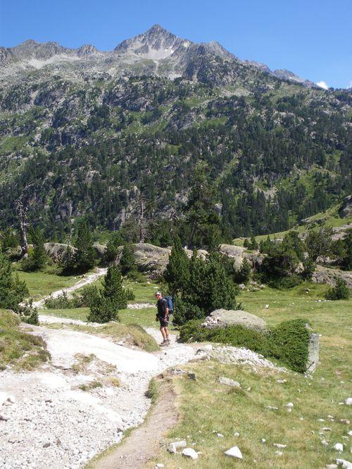 Pyrénées : Lacs de la Cardinquère:Embarrat (2078m)-Pourtet (2420m)-Nère (2309m) 54