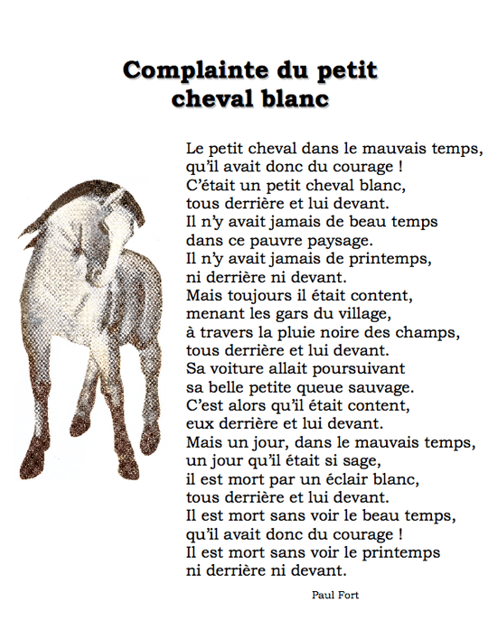 Georges Brassens - Le Petit Cheval Lyrics & traduction