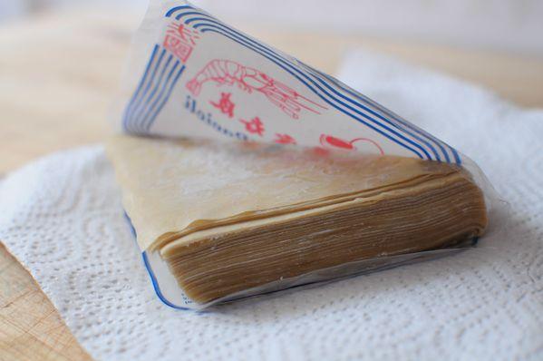 Ravioles aux feuilles Wonton  au jambon   Blog de cuisine crative recettes  popotte de Manue