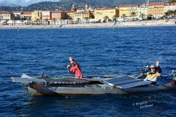 bateaux electriques port de Nice