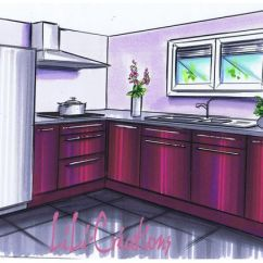 Microwave Kitchen Cabinet Table With Corner Bench And Chairs - Lelab Legrand Wall Plum Wood Facade Clear ...
