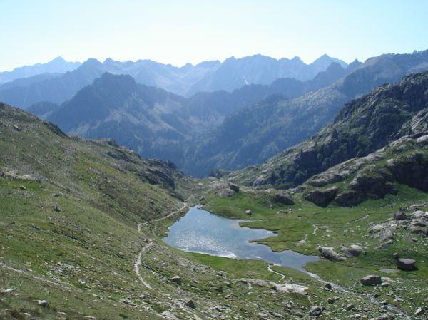 Pyrénées : Lacs de la Cardinquère:Embarrat (2078m)-Pourtet (2420m)-Nère (2309m) 26