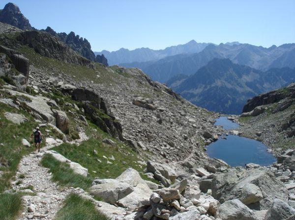 Pyrénées : Lacs de la Cardinquère:Embarrat (2078m)-Pourtet (2420m)-Nère (2309m) 30