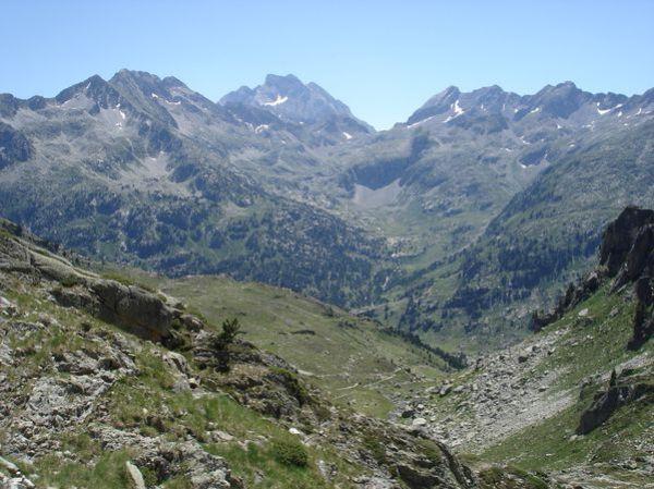 Pyrénées : Lacs de la Cardinquère:Embarrat (2078m)-Pourtet (2420m)-Nère (2309m) 44