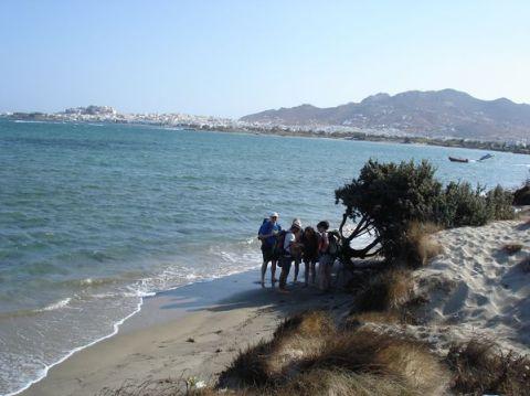 Naxos: Presqu'île de Prokopios et plage d'Agia Anna 2